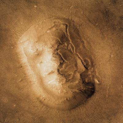 Face on Mars--Photographic Print