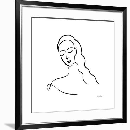 Faces III-Farida Zaman-Framed Art Print