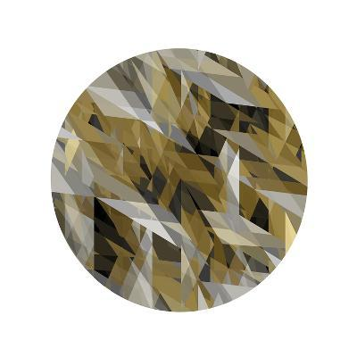 Facets in the Round III-Jan Tatum-Giclee Print