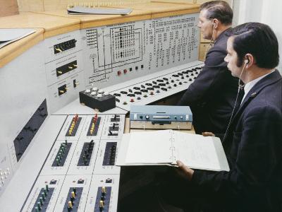Factory Control Board-Heinz Zinram-Photographic Print