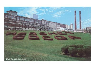Factory Lawn, Hershey, Pennsylvania--Art Print