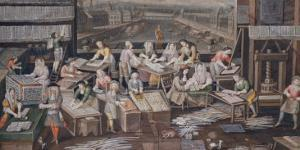Factory of Playing Cards, c. 1680