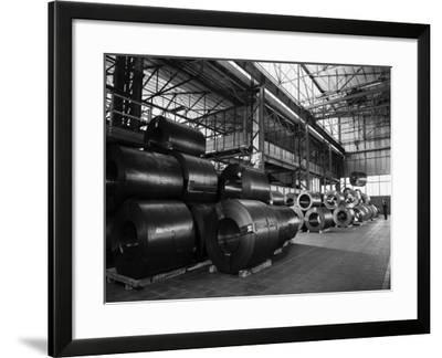 Factory of the Becchi Company, Producer of Kitchen Units in Forli-A. Villani-Framed Photographic Print