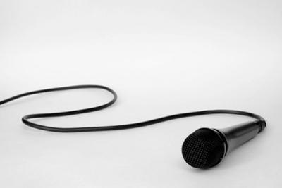 Microphone by Fade Photo