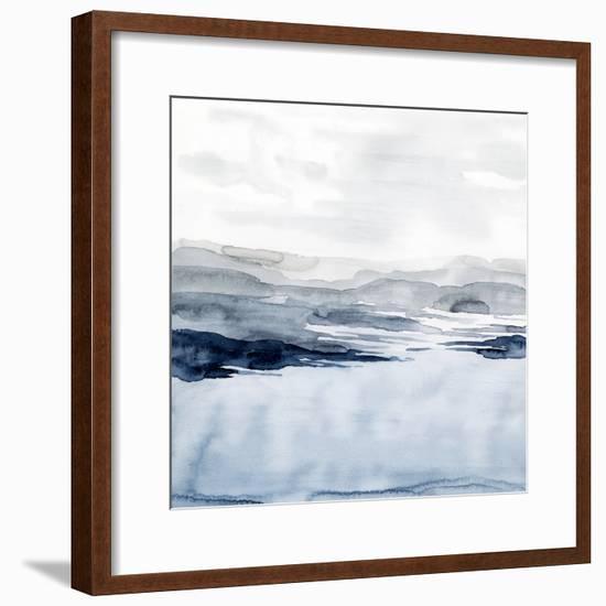 Faded Horizon I-Grace Popp-Framed Art Print