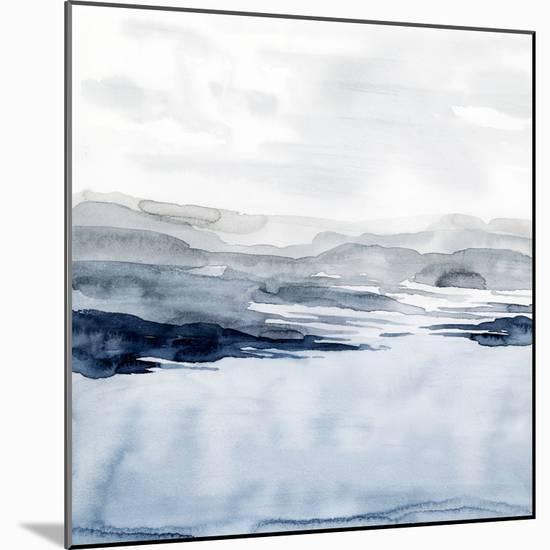 Faded Horizon I-Grace Popp-Mounted Art Print