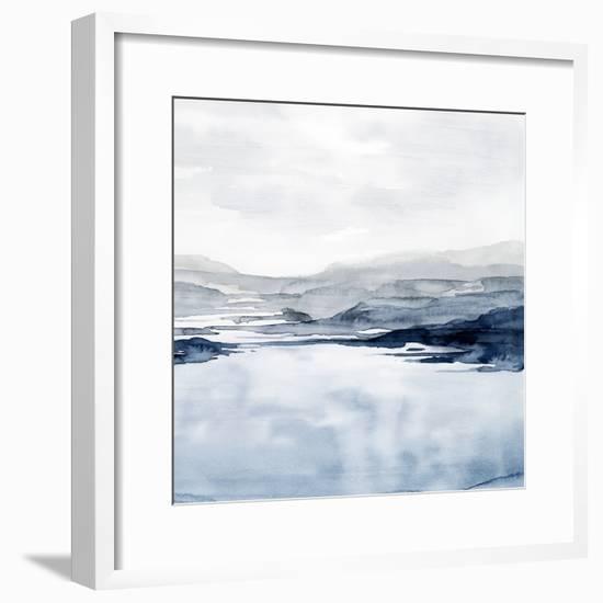 Faded Horizon II-Grace Popp-Framed Art Print