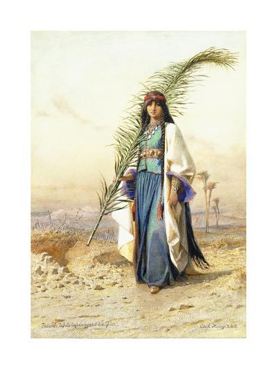 Fadimeh, The Daughter of Aghile Agha-Carl		 Haag-Giclee Print