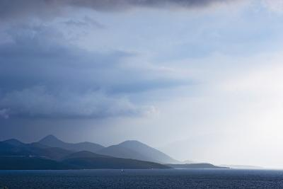 Fading Seascape of Ioninan Islands at Sunset, Ioninan Islands,Greece-Design Pics Inc-Photographic Print