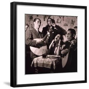 Fado Singer in Portuguese Night Club, 1946