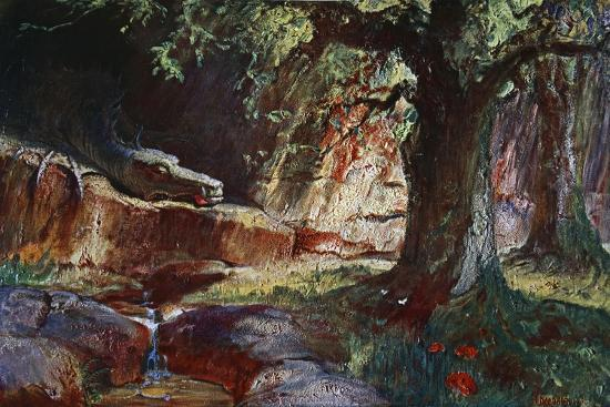 'Fafner in his Cave', 1906-Unknown-Giclee Print