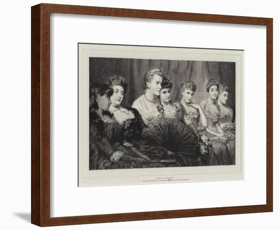 Fair Critics-George Elgar Hicks-Framed Giclee Print
