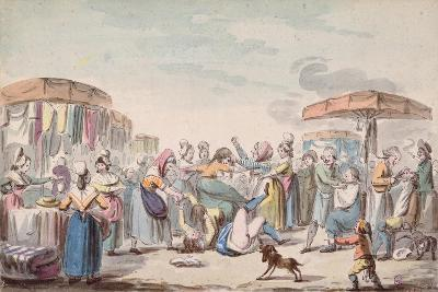 Fair During the Period of the French Revolution, C.1789-Etienne Bericourt-Giclee Print