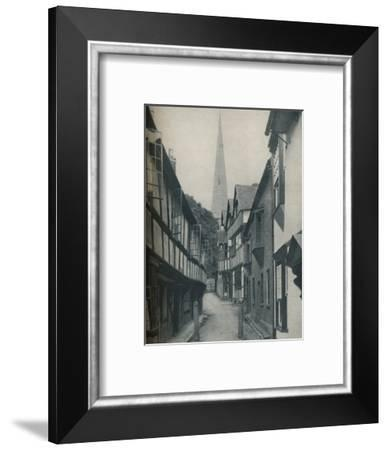 'Fair Homes Gathered Round a Steeple That Points To Heaven', c1935-BC Clayton-Framed Photographic Print