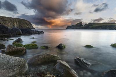 Fair Isle. in the Far North of Scotland. the Coast Near Finni Quoy. Scotland, Shetland Islands-Martin Zwick-Photographic Print