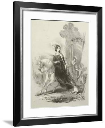 Fair Rosamond-Joseph Nash-Framed Giclee Print