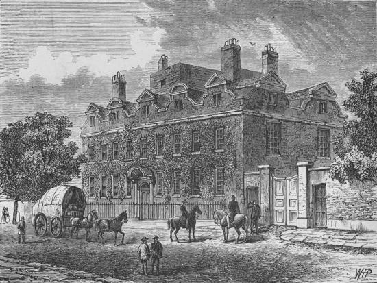 'Fairfax House, Putney', 1890-Unknown-Giclee Print
