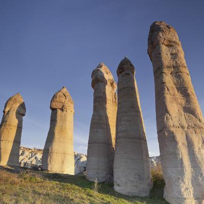 Fairy Chimneys in Love Valley, Tuff Stone, Cappadocia, Anatolia, Turkey-Rainer Mirau-Photographic Print