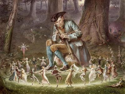 Fairy Dance, 1882-William Holmes Sullivan-Giclee Print
