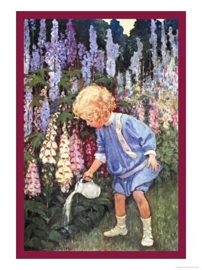 Fairy Gardens-Jessie Willcox-Smith-Art Print
