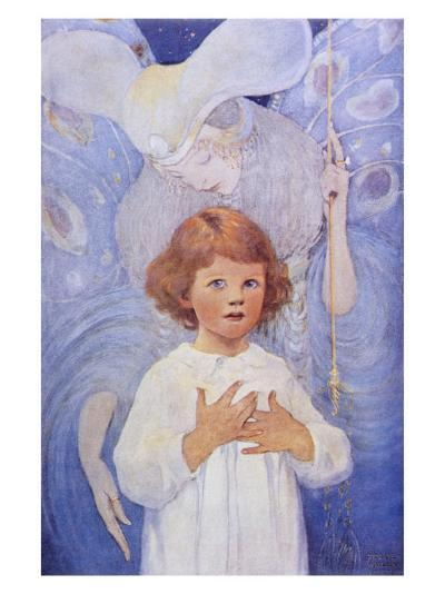 Fairy Godmother Angel-Jessie Willcox-Smith-Giclee Print