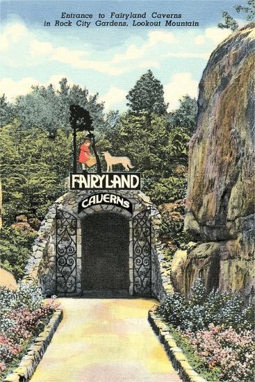 Fairy Land Caverns, Lookout Mountain--Art Print