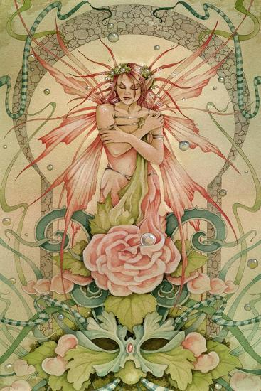Fairy Muse-Linda Ravenscroft-Giclee Print
