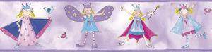 Fairy Princess Peel & Stick Border Wall Decal