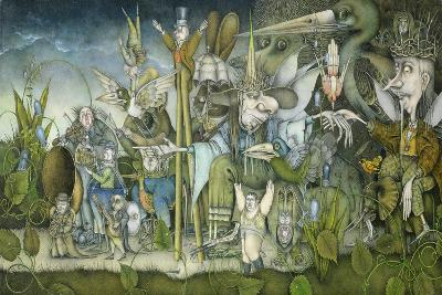 Fairy Procession-Wayne Anderson-Giclee Print