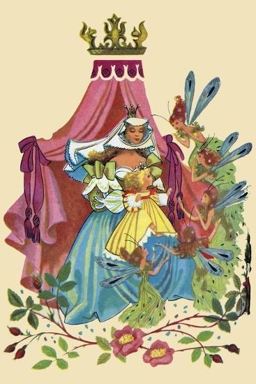 Fairy Queen-Sheilah Beckett-Art Print