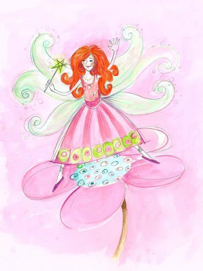 Fairy Red Hair--Art Print