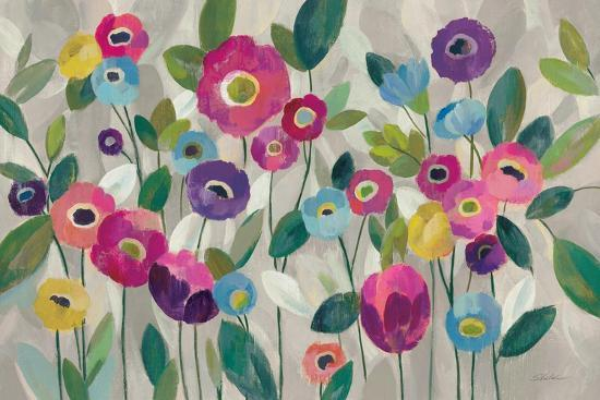 Fairy Tale Flowers V Pink-Silvia Vassileva-Art Print