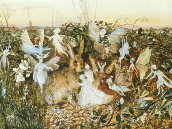 Fairy Twilight-John Anster Fitzgerald-Giclee Print