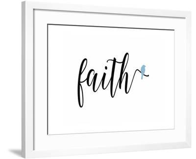 Faith Blue Bird-Tara Moss-Framed Art Print