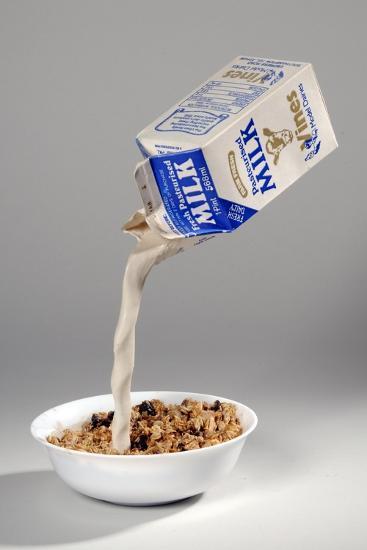 Fake Milk Carton and Bowl, from a Joke Shop--Giclee Print