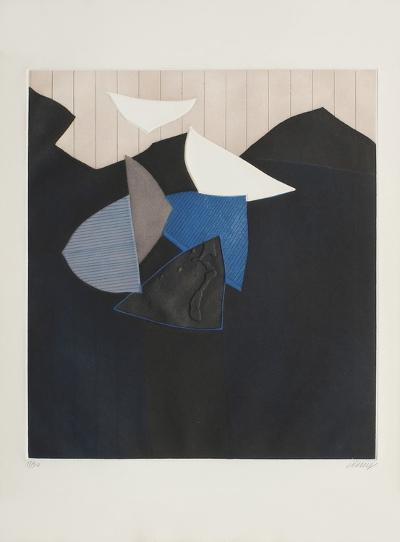 Falaise Et Oiseaux-Bertrand Dorny-Limited Edition