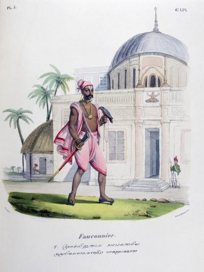 Falconer, 1828- Marlet et Cie-Giclee Print