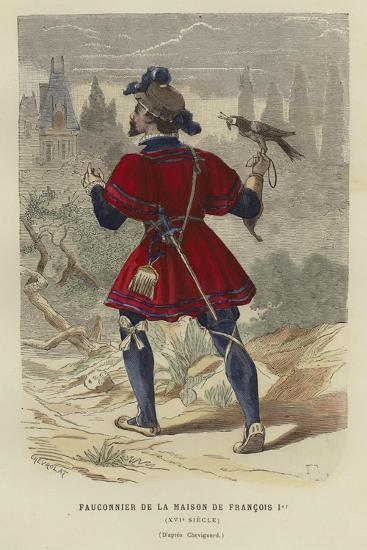 Falconer of the Household of Francis I of France, 16th Century--Giclee Print