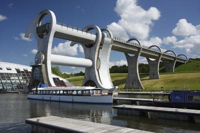 Falkirk Wheel, Stirlingshire, Scotland, 2009-Peter Thompson-Photographic Print
