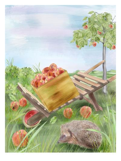Fall Apples-Advocate Art-Art Print