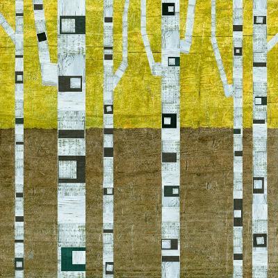 Fall Birches-Michelle Calkins-Art Print