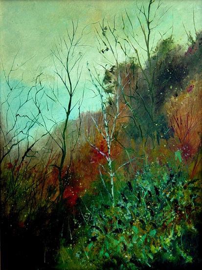 Fall (charlier)-Pol Ledent-Art Print