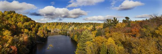 Fall Color Dead River Marquette County in the Upper Peninsula, Michigan-Richard and Susan Day-Photographic Print