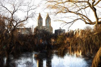 Fall Colors on Central Park-Philippe Hugonnard-Giclee Print
