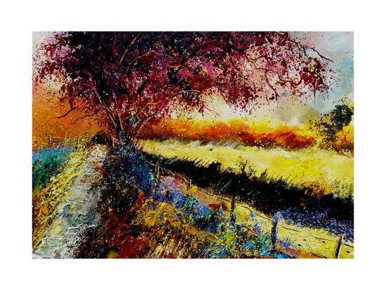 Fall In Gendron 2-Pol Ledent-Art Print