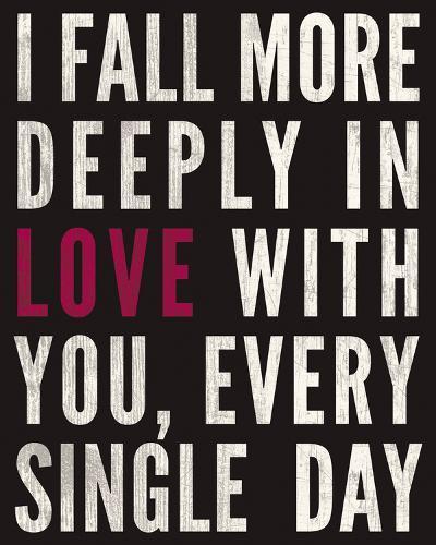 Fall in Love-Sasha Blake-Giclee Print