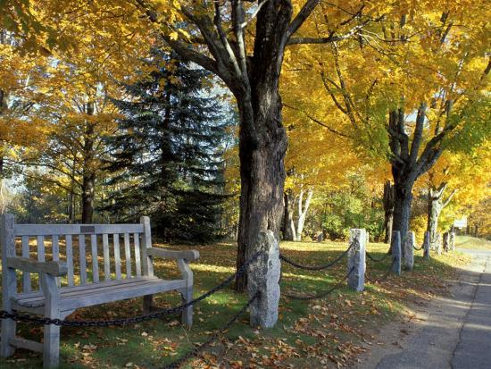 Fall in New England, New Hampshire, USA-Jerry & Marcy Monkman-Photographic Print