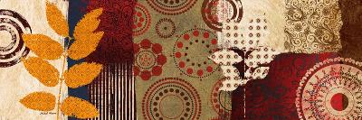 Fall Leaf Panel II-Michael Marcon-Premium Giclee Print