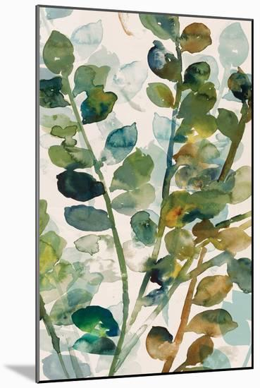 Fall Leaves II-Asia Jensen-Mounted Art Print