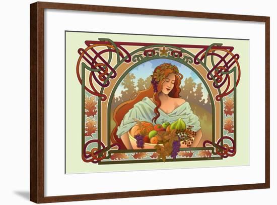 Fall Nouveau-Julie Goonan-Framed Giclee Print